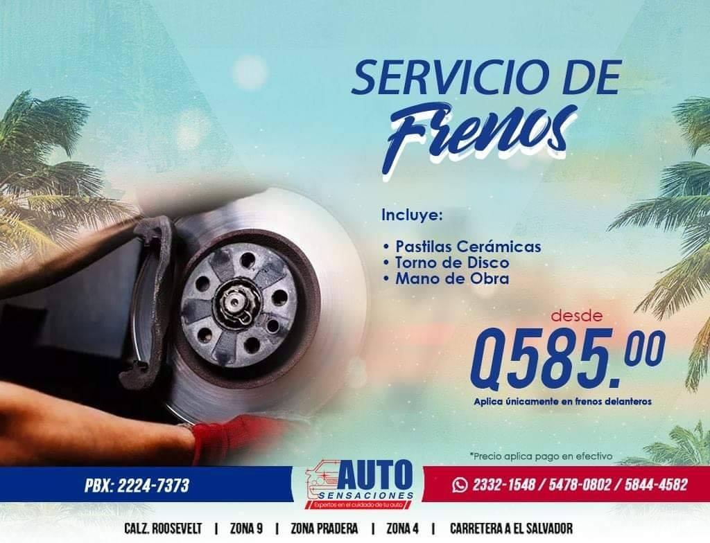 servicios de frenos